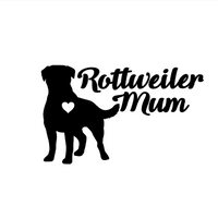 Rotti Mum Decal