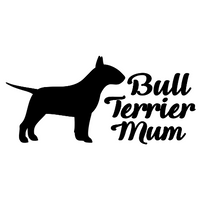 Bull Terrier Mum Decal