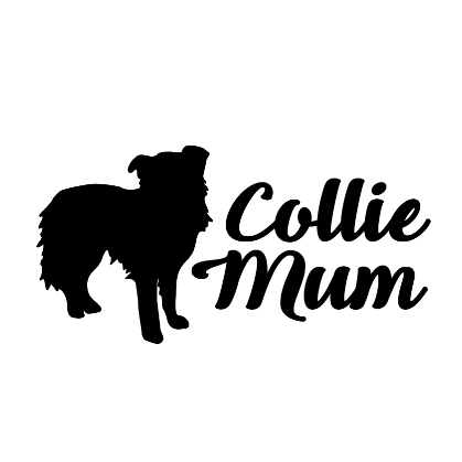 Collie Mum Decal