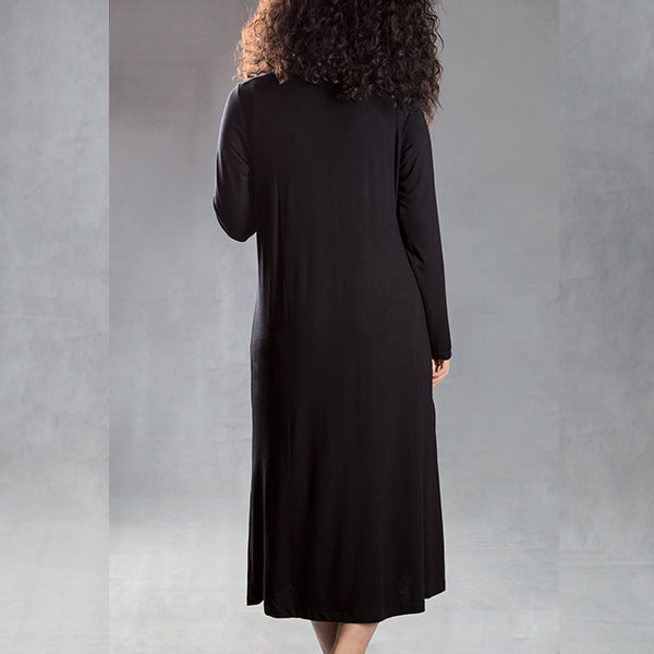 D2 max A maxi round neck long sleeve