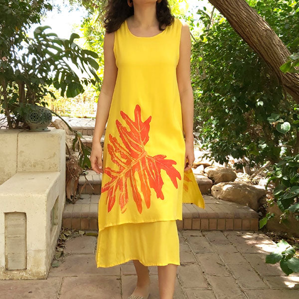 Dress N1/U Aspen Yellow