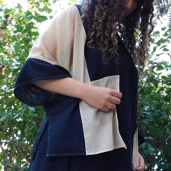 Patched Poncho SV11/21
