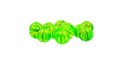 Acrylic Chartreuse Beads (12 ct)