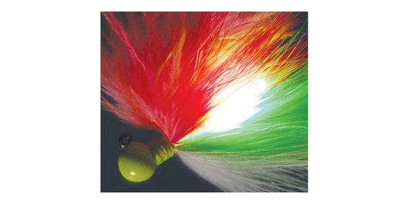 Fire Flies Marabou Flash Jigs #07