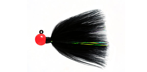 Sy's Jigs & Flies Marabou Flash Jig #08