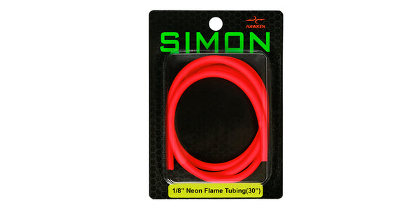 "1/8"" Flame Latex Tubing (30"")"