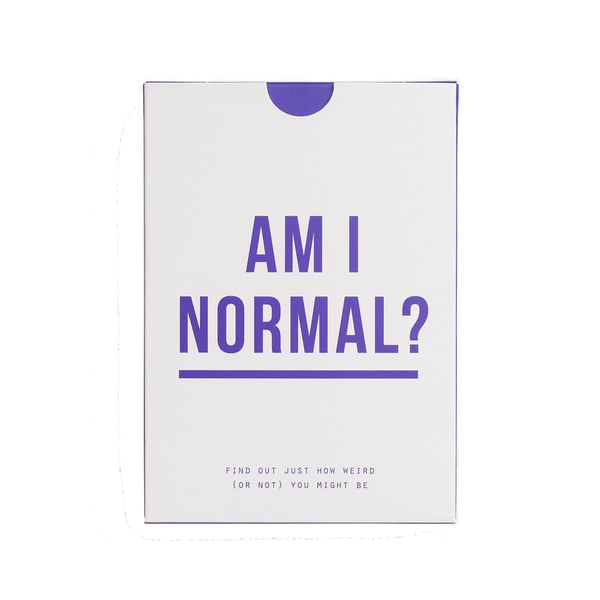Am I normal? card game