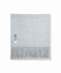 Scarf - Baby alpaca light grey