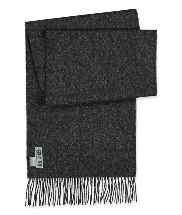 Scarf - baby alpaca charcoal