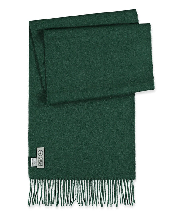 Baby Alpaca Scarf in Racing Green by So Cosy London | Discover now at Cuemars