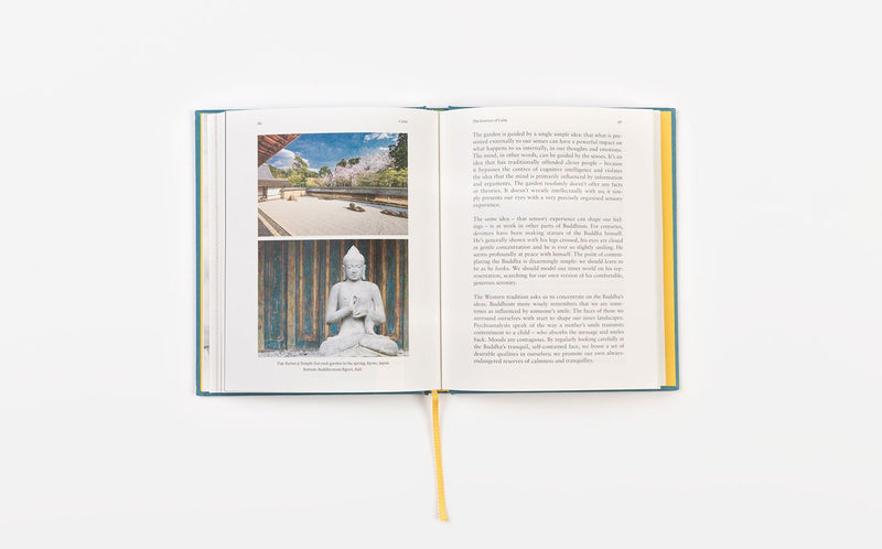Inside of Calm, a book by The School of Life that gives you the tools to practice the skill of remaining calm