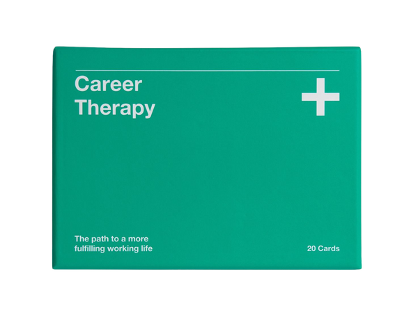 Picture of Career Therapy by The School of Life, a set of exercises and essays to help anybody in a work related crisis