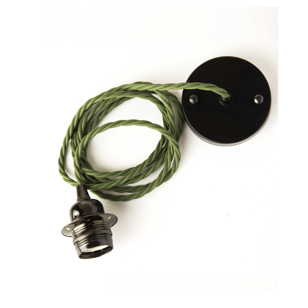 Ceiling-rose-lamp-green-army-industrial-lighting-cuemars