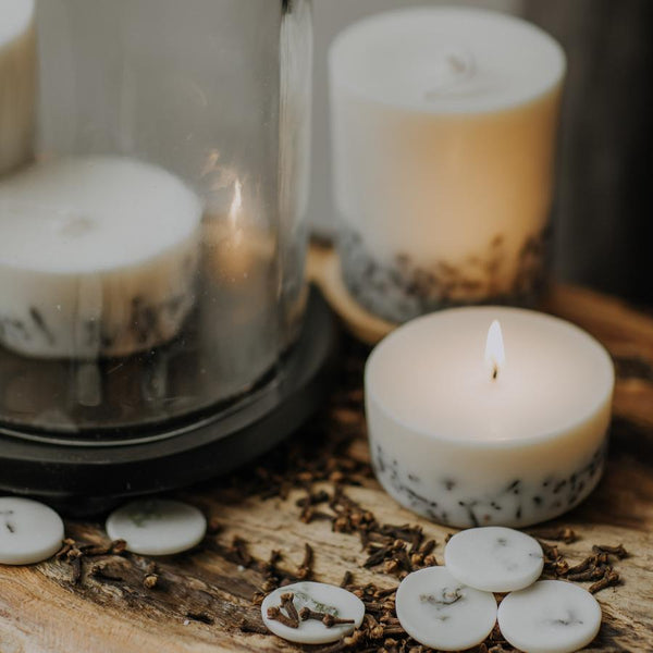 Cloves eco soy wax mini candle