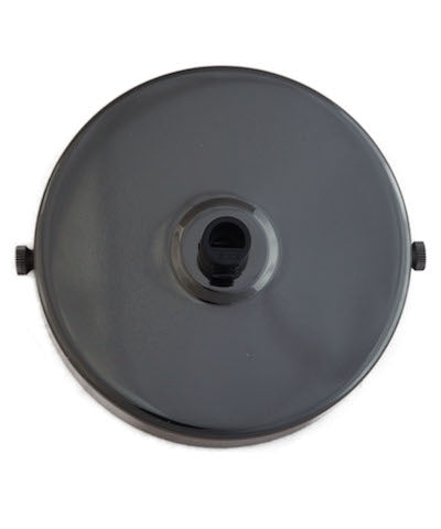 Glossy Black ceiling Rose (1 - 9 outlets holes)