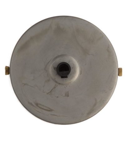 Raw Steel ceiling Rose (1 - 9 outlets holes)