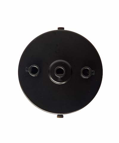 Black ceiling Rose (1 - 9 outlets holes)