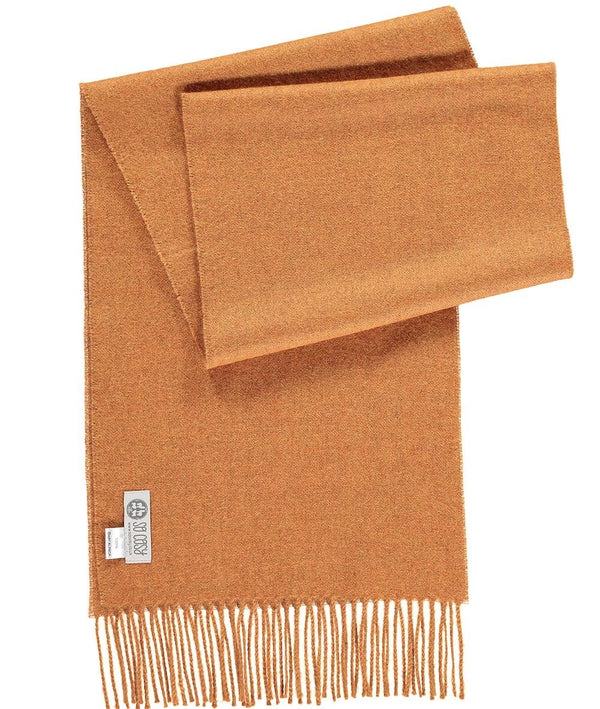 Baby Alpaca Scarf in Curry by So Cosy London | Discover now at Cuemars