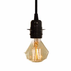 Vintage Light Bulb - Diamond