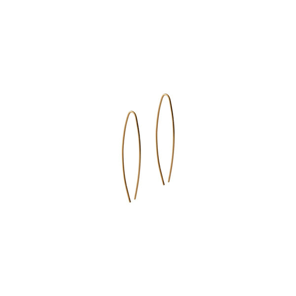 Fresh and minimalist drop earrings Mia by Keep it Peachy now online on Cuemars