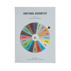 Picture of Emotional Barometer by The School of Life, 20 cards that explain 20 different moods that we can all relate to