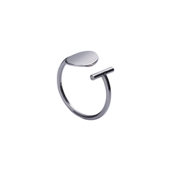 Lexi Adjustable Sterling Silver Ring | Keep it Peachy | Discover now at Cuemars