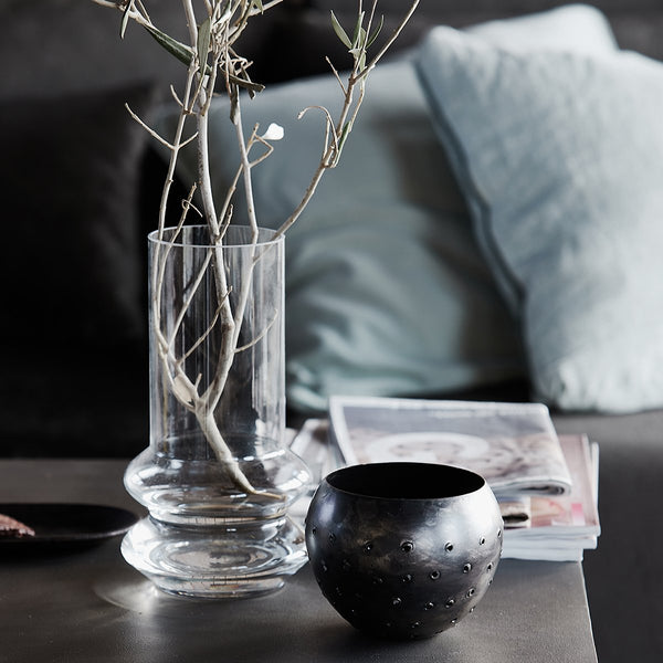 Geometric-Form-Glass-Vase-home-decor-with-dried-flowers-cuemars