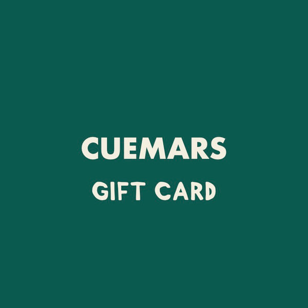 Gift card conscious gifts cuemars