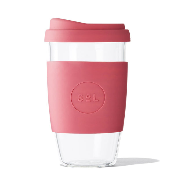 Glass Cup 16oz - 3 colours