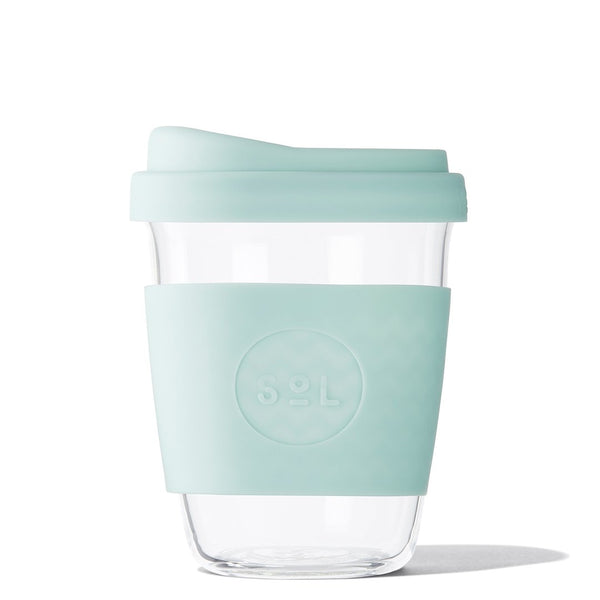Glass Cup 12oz - 3 colors