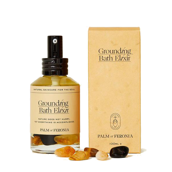 Palm of Feronia Grounding Bath Elixir