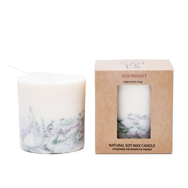 Heather Eco Soy Wax candle