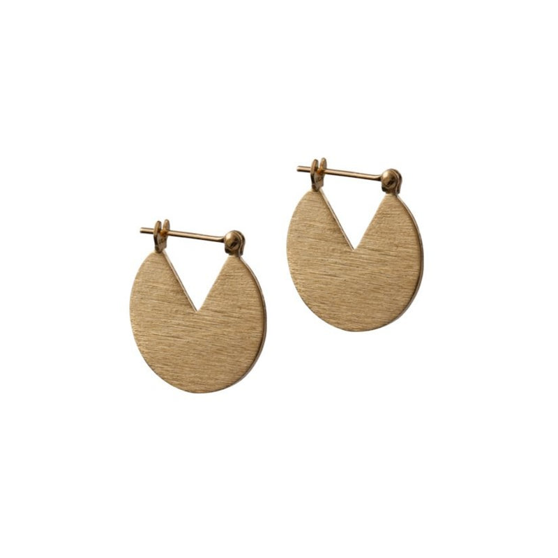 Auden - Brushed Gold Earrings