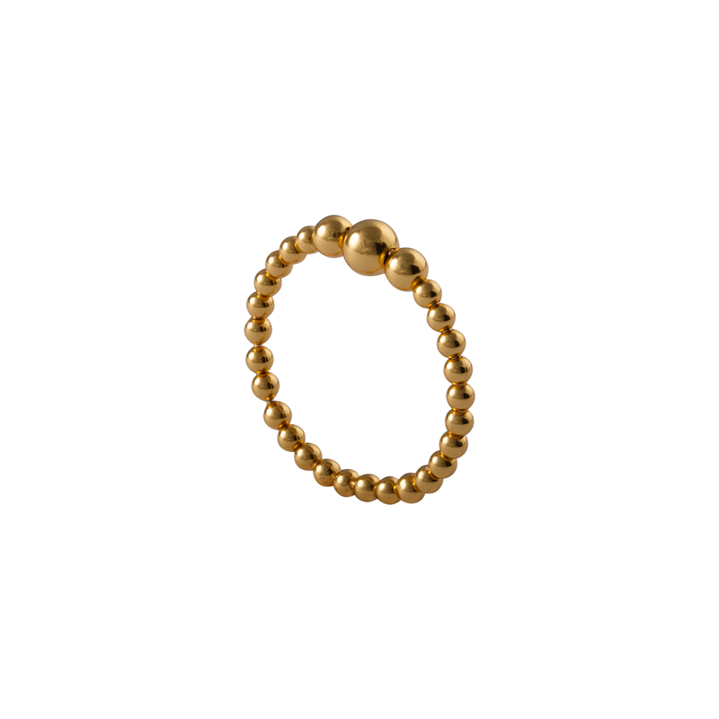 Ariana Gold Plated Ring | Keep it Peachy | Discover now at Cuemars