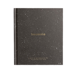 Front Cover of Insomnia, a book by The School of Life that will be our companion until we wait for sleep to come