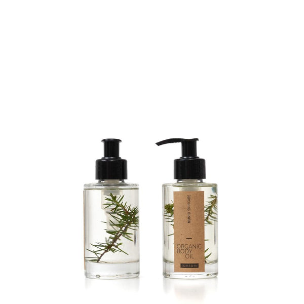 The Munio Organic Body Oil with Juniper Natural Skin Care