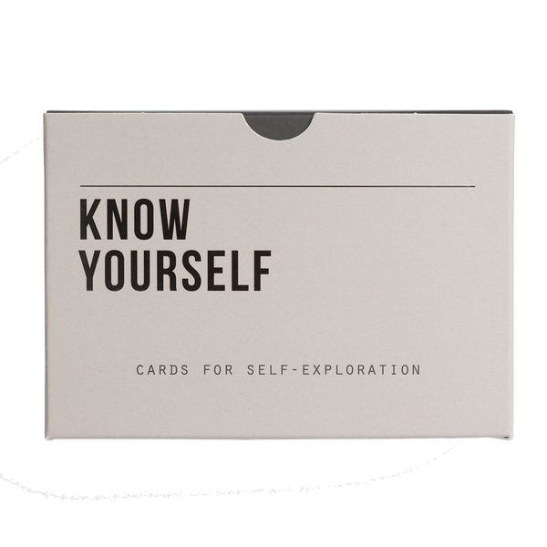 Picture of Know Yourself by The School of Life, 60 prompt cards for self-exploration