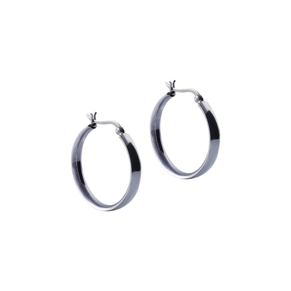 Fresh and minimalist hoop earrings Maya by Keep it Peachy now online on Cuemars