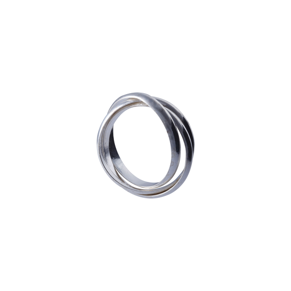 RING Silver Trinity Large