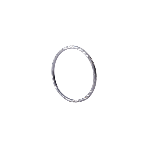 Maddie Sterling Silver Stacking Ring | Keep it Peachy | Discover now at Cuemars