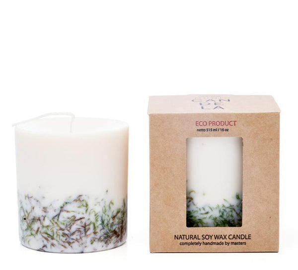 Moss eco soy wax candle