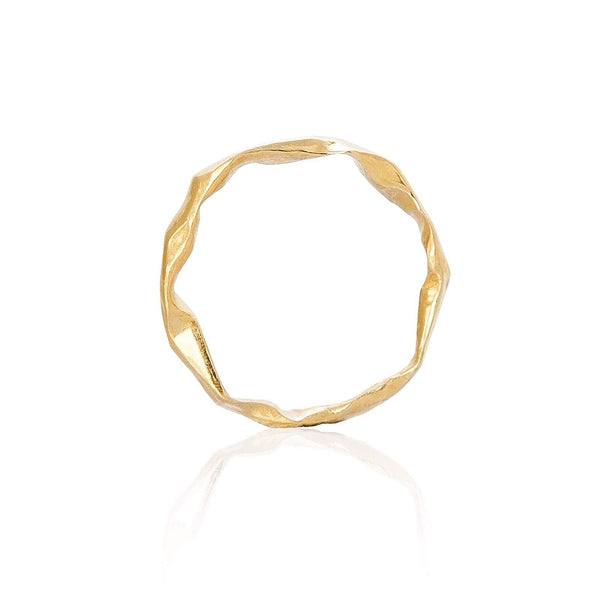 Gold Plated Silver Handmade ring Niza Huang
