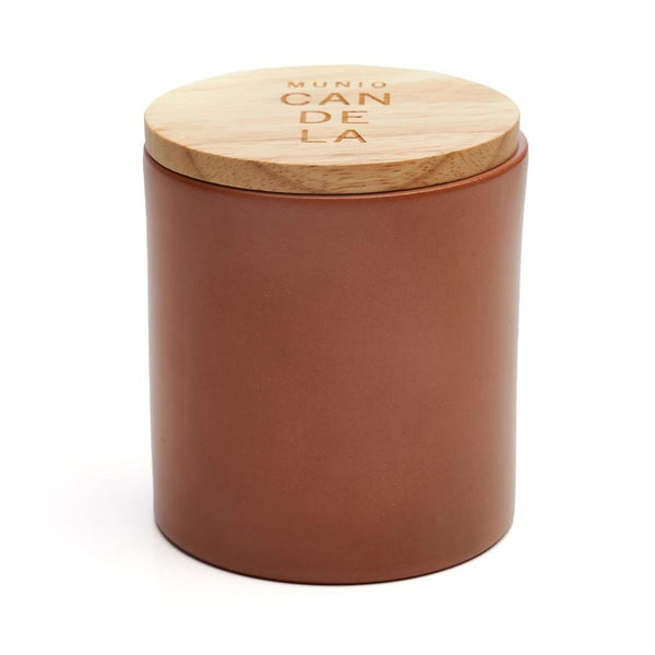 Oak eco soy wax candle