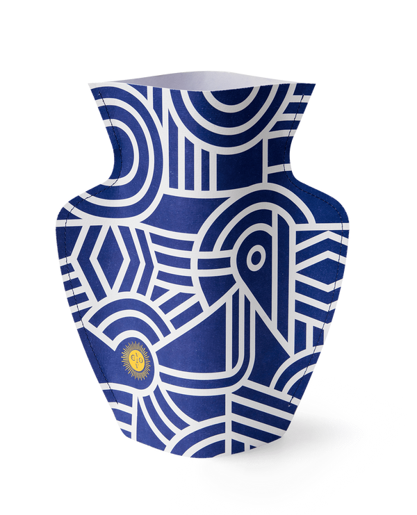 Octaevo-greco-paper-vase-ancient-ceramic-inspired-london-handmade-cuemars