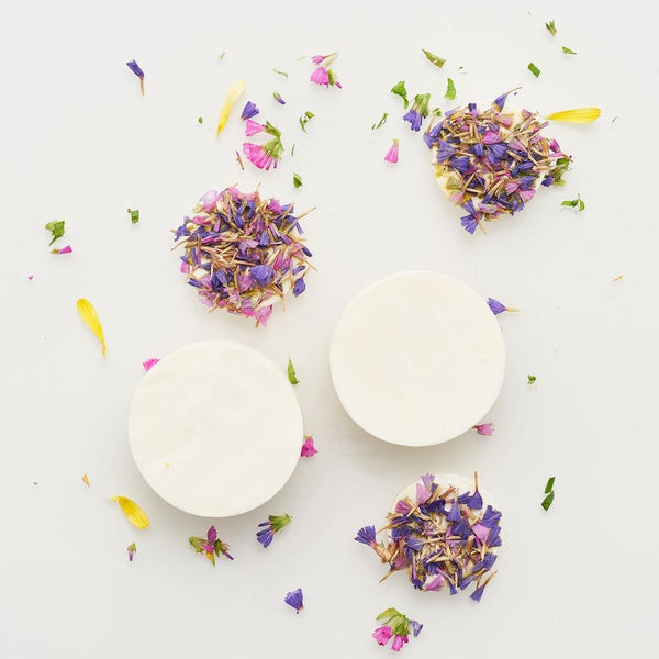 The Munio Organic Soap with Wild Flowers Natural Skin Care