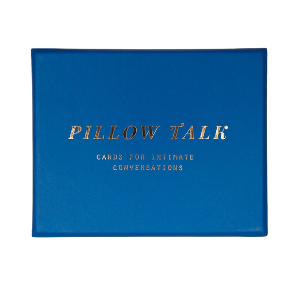 Picture of Pillow Talk by The School of Life, 60 cards for intimate conversations