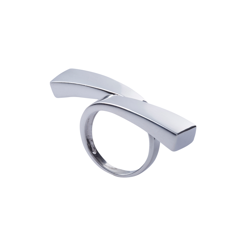 Crossing Sterling Silver Ring by Corosch | Discover now at Cuemars