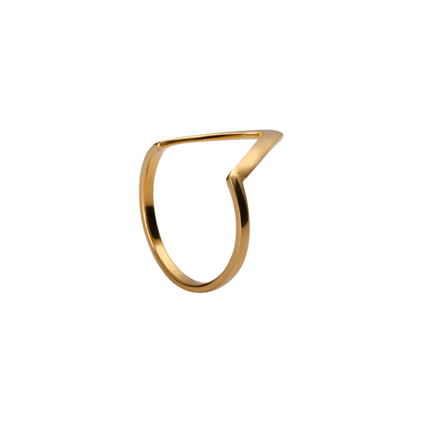 Vivienne Gold Plated Ring | Keep it Peachy | Discover now at Cuemars