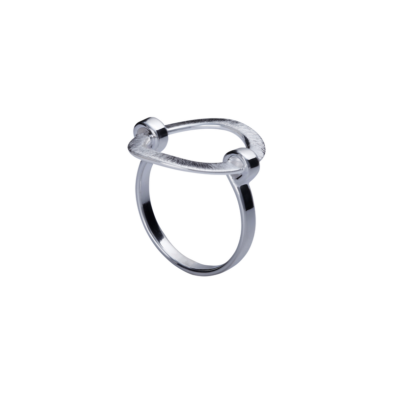 Circle Sterling Silver Band Ring by Corosch | Discover now at Cuemars
