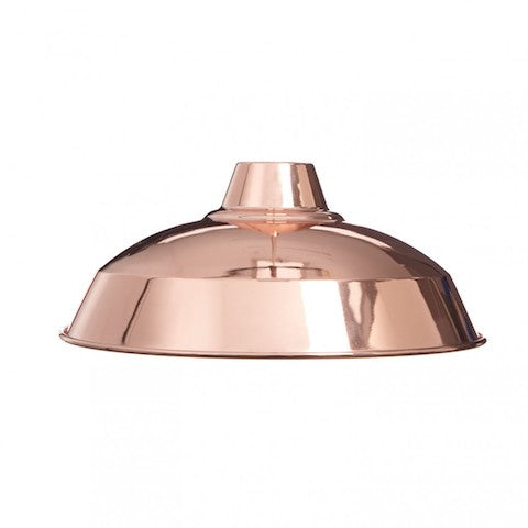 Industrial Lamp Shade - Rose Gold